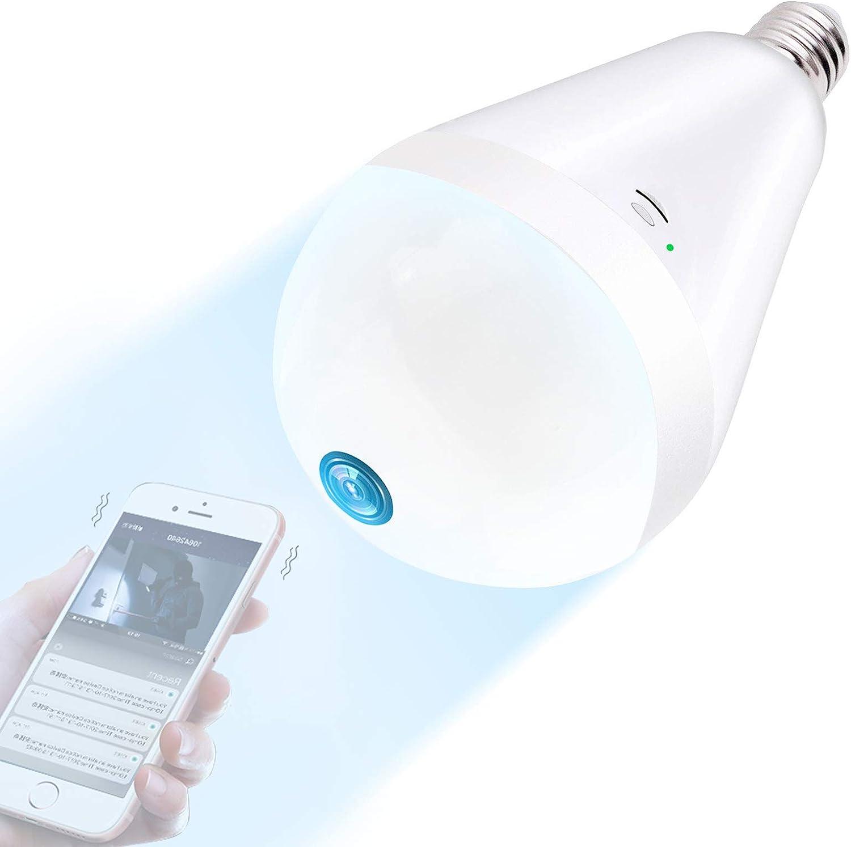 TUPEYA - Light Bulb Camera