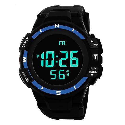 Cebbay Liquidación LED Gift Unisex Reloj Leisure Fashion Noble Analógico Digital Military Army Sport Reloj impermeable