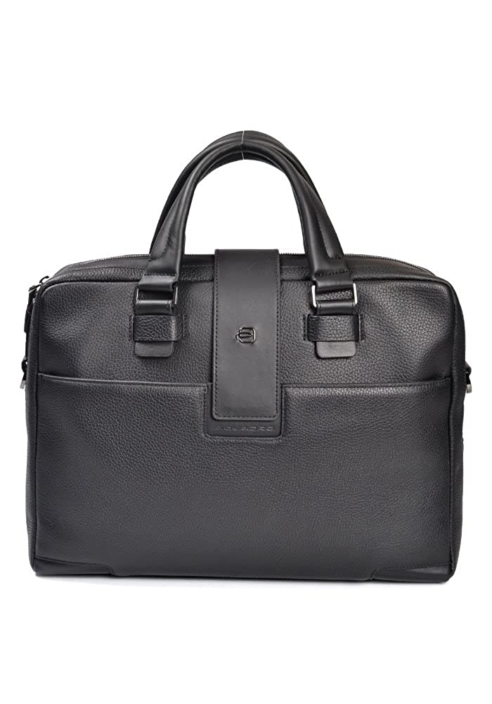 PIQUADRO Bag ILI Unisex Leather Black - CA3996S86-N B01N2963GZ