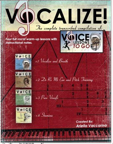 Download Voice Lessons To Go's -Vocalize! pdf epub