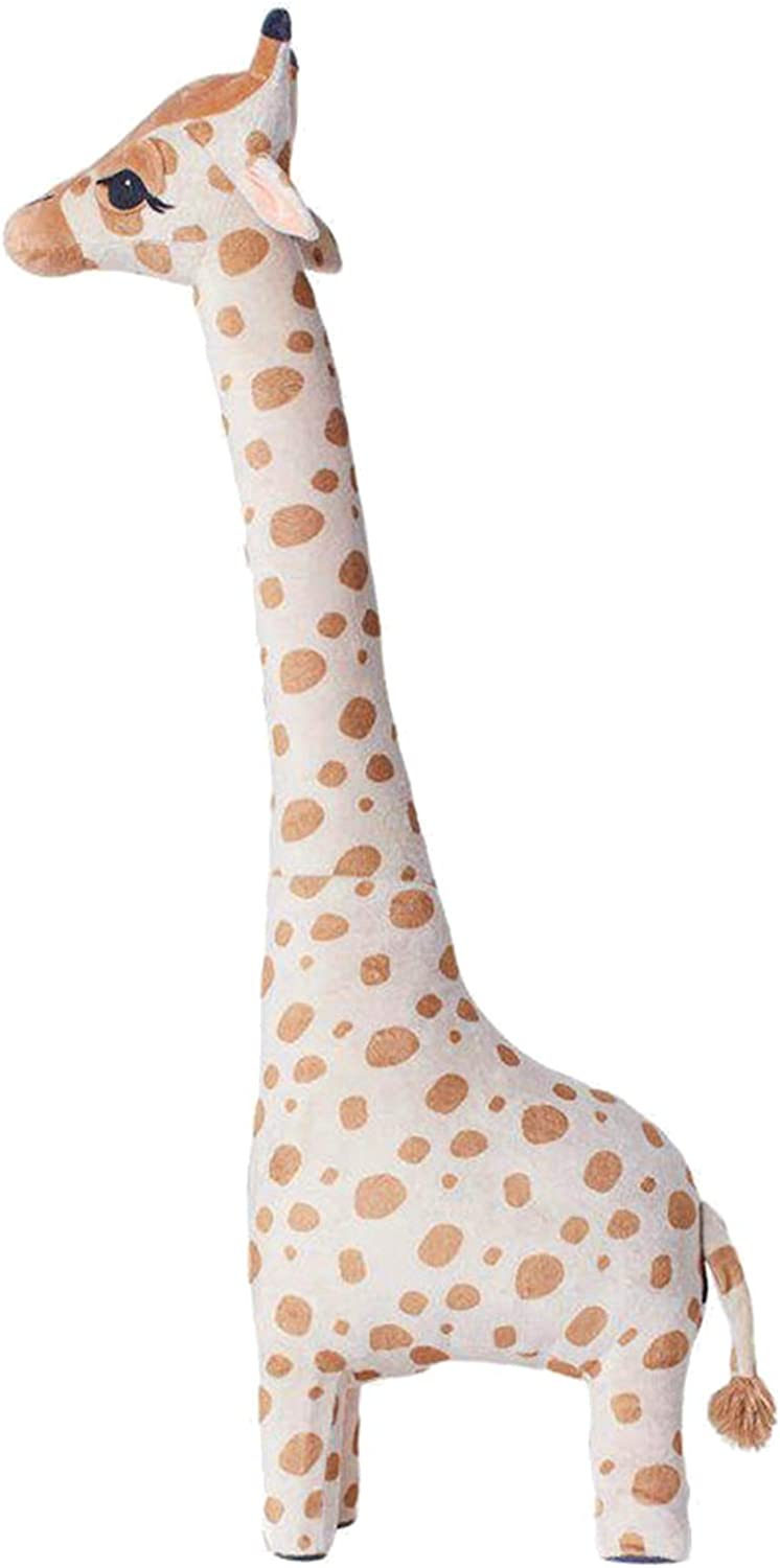 "Giraffe Stuffed Animals Plush,Cartoon Cotton Giraffe Soft Doll Animal Stuffed Toy for Home Decor Kids Gift (9.06"" x 5.91"" x 26.38"") Giraffe"