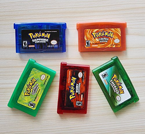 Pokemon Game Card Gift for Child Advance for Nintendo NDS/NDSL/GBC/GBM/GBA/SP (Nintendo Dsi Games Soccer)