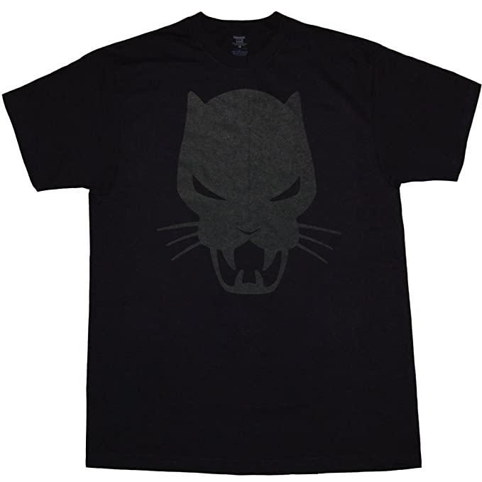 Marvel Comics Black Panther Symbol T Shirt Amazon Clothing