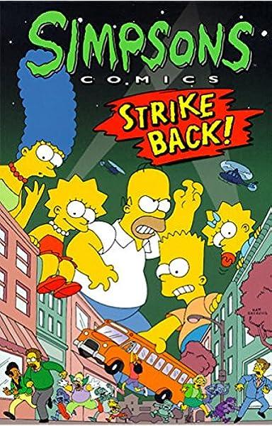 Simpsons Comics Strike Back Groening Matt 9780060952129 Books