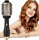 AU Plug 5 in 1 Upgrade Hot Air Brush, Hair Dryer Brush, One-Step Hair Dryer & Volumizer, Negative Ion Portable Air Hair…