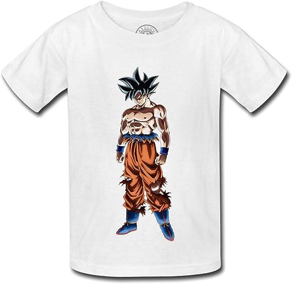 Fabulous T Shirt Enfant Dragon Ball Super Son Goku Déterminé Anime Manga Japon