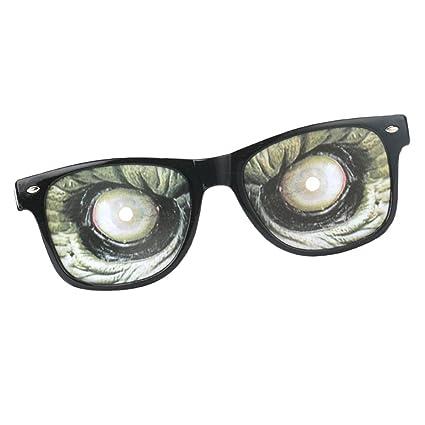D DOLITY Gafas de Sol Gracioso Monstruo Ojo Diseño Futurista ...