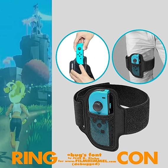 Balight Brazalete de Control Elástica Ajustable de Reemplazo para Juego de Ring Fit Adventure de Nintendo Switch Juego de Ejercicios de Fitness Joycon Adapter 1 pcs: Amazon.es: Deportes y aire libre