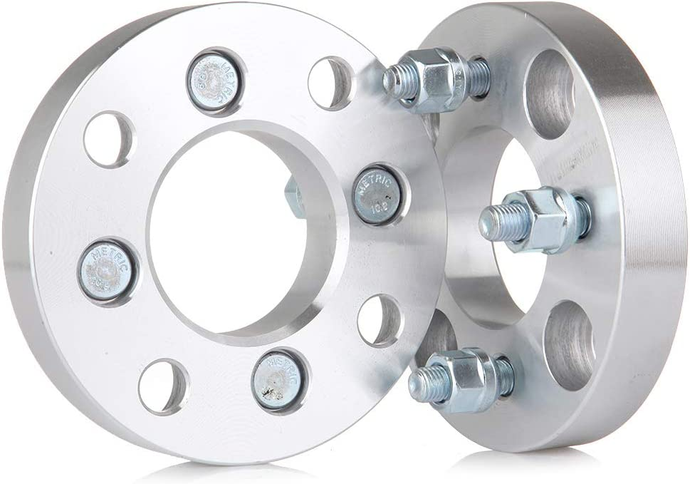 OCPTY replacement parts 4x114.3 to 4x100 Wheel Adapter 1 4x4.5 4x114.3mm to 4x100 4 lug Wheel spacers Adapter 12x1.5 Thread Pinch 4x Fit for Elantra Acura Vigor Legend Mitsubishi Galant