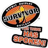 Popfunk Survivor The Tribe Has Spoken Collectible Stickers
