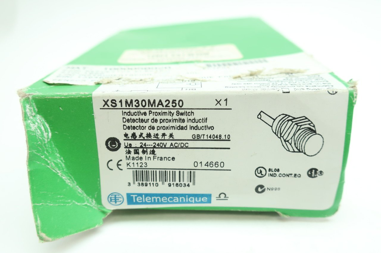 TELEMECANIQUE XS1M30MA250 INDUCTIVE Proximity Switch 24-240V-AC D624343: Amazon.com: Industrial & Scientific