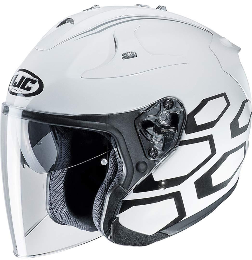 Taille M HJC Casque de Moto FG-JET DUKAS MC5 Noir
