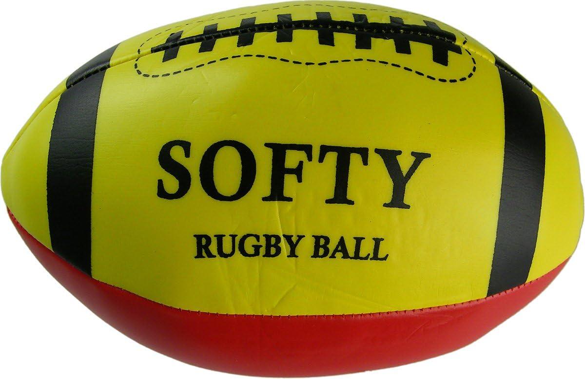 Qawiun Pelota de Rugby para niños, Espuma Vortex, Pelota de Rugby ...