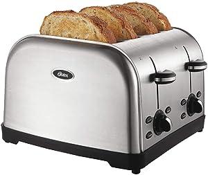 Toaster, 4-Slot, 120/127V, Stainless Steel