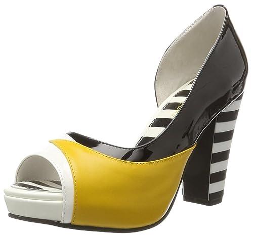 Womens Angie P Open Toe Heels Lola Ramona 7XwgrO