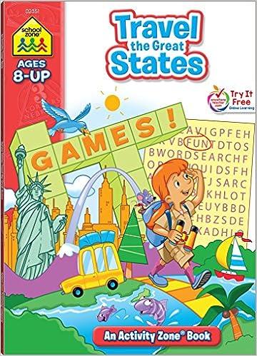 Amazon.com: School Zone - Travel the Great States Workbook ...