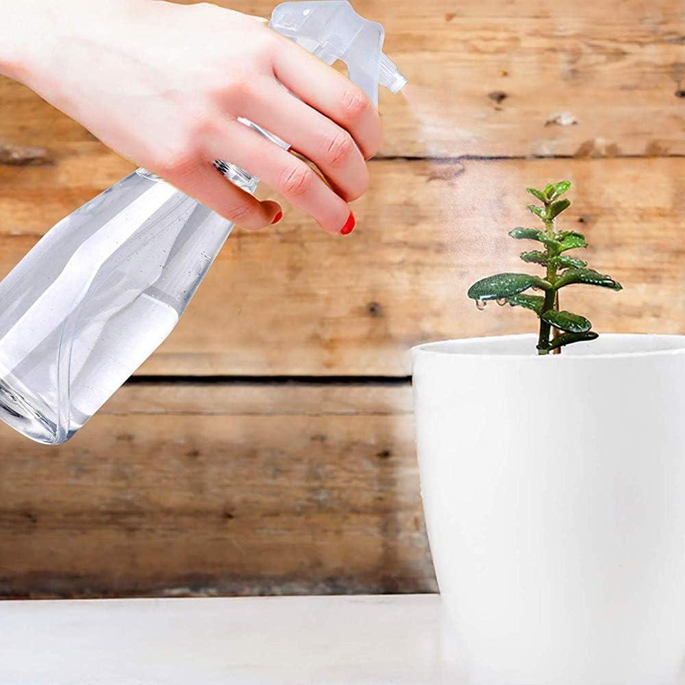Empty Spray Bottle 200ml Plastic Fine Mist Spray Bottle Trigger Spray Bottles for Gardening Cleaning Beauty Treatments Cool down