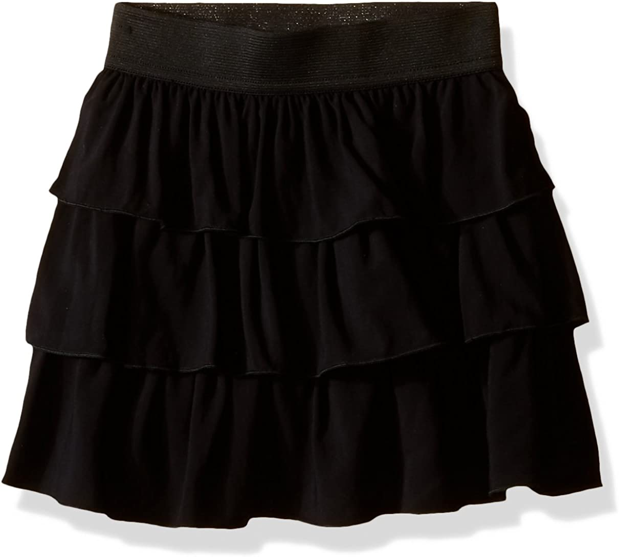 Amy Byer Girls' Pull-On Tiered Skirt for School or Play