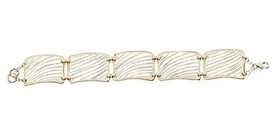 5mm Bracelet Bracelet Chaine Boules Or 585 Or Blanc Bracelet En Or 19cm