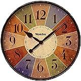 Westclox 32897 12' Round Multicolor Analog Wall Clock