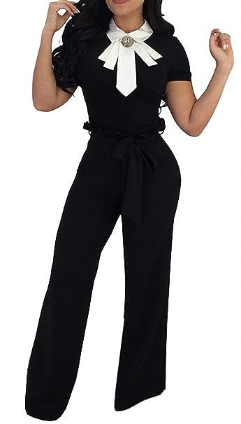Pantalon Mujer Largos Primavera Otoño Cintura Alta Elegante ...