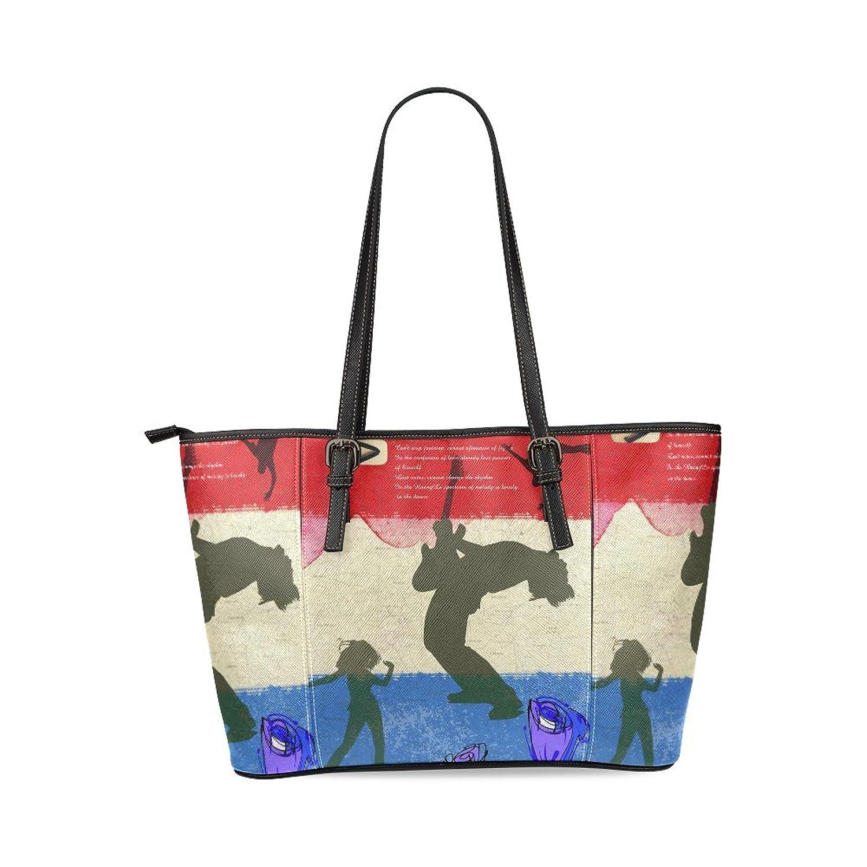Rock Music Women's Mosaic High-grade PU Leather Large Tote Bag/Handbag/Shoulder Bag