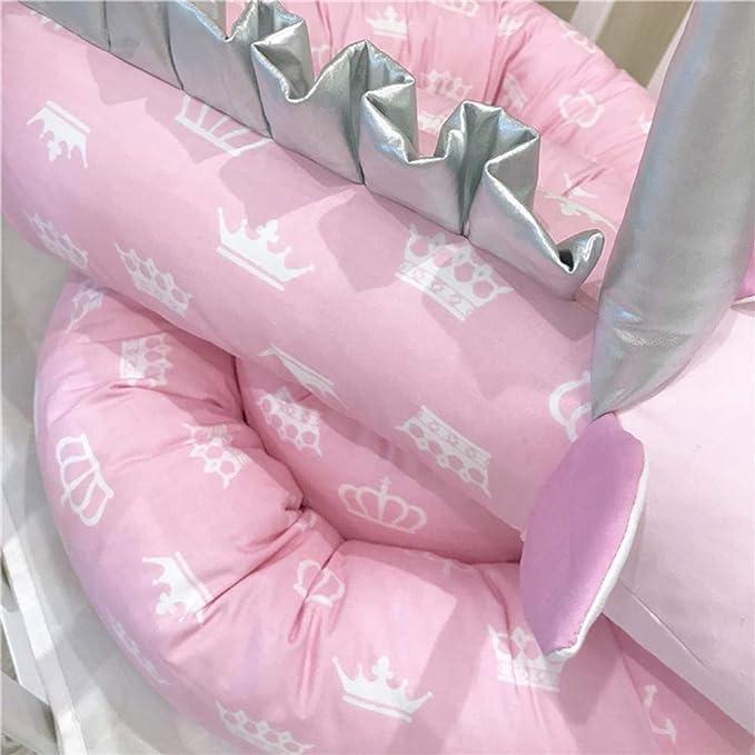 YUEHAPPY/® Protector Cuna Chichonera de Cuna y Cama para Beb/é Cabeza Coj/ín de Barandillas Unicornio Rosa 3D Dibujos Animados ,2m Unicorn