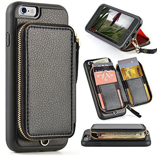 ZVE Protective Leather Handbag inch Black