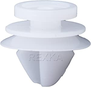 Rexka Front Lower Fender & Exterior Trim Retainers for Land Rover LR028939 Evoque HSE Range Rover (Pack of 30)