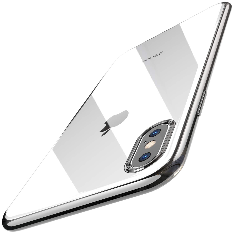 TOZO Funda para iPhone XS MAX, 6,5 Inch (2018) Piel de Gel Suave TPU Suave [1,0mm Ultra Delgado] Cubierta Protectora Suave Delgada Protective Carcasa ...