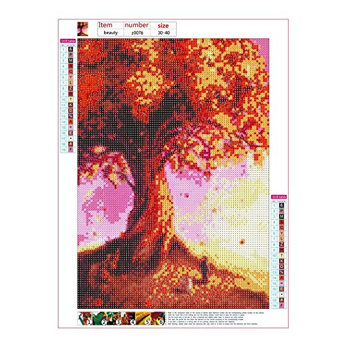 AIkong Diamond Painting Drawing Crafts Fantasy Embroidery Craft Home Decor z0076 Multi-Color