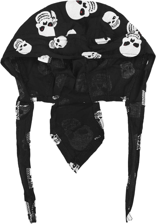 Anti-UV Schutz Damen Herren Kopftuch Piratenm/ütze Bikertuch Stirnband Fahrrad Radsport Motorrad Kopfbedeckung M/ütze JIAHG Sport Bandana Cap Hat schnell-trocknend