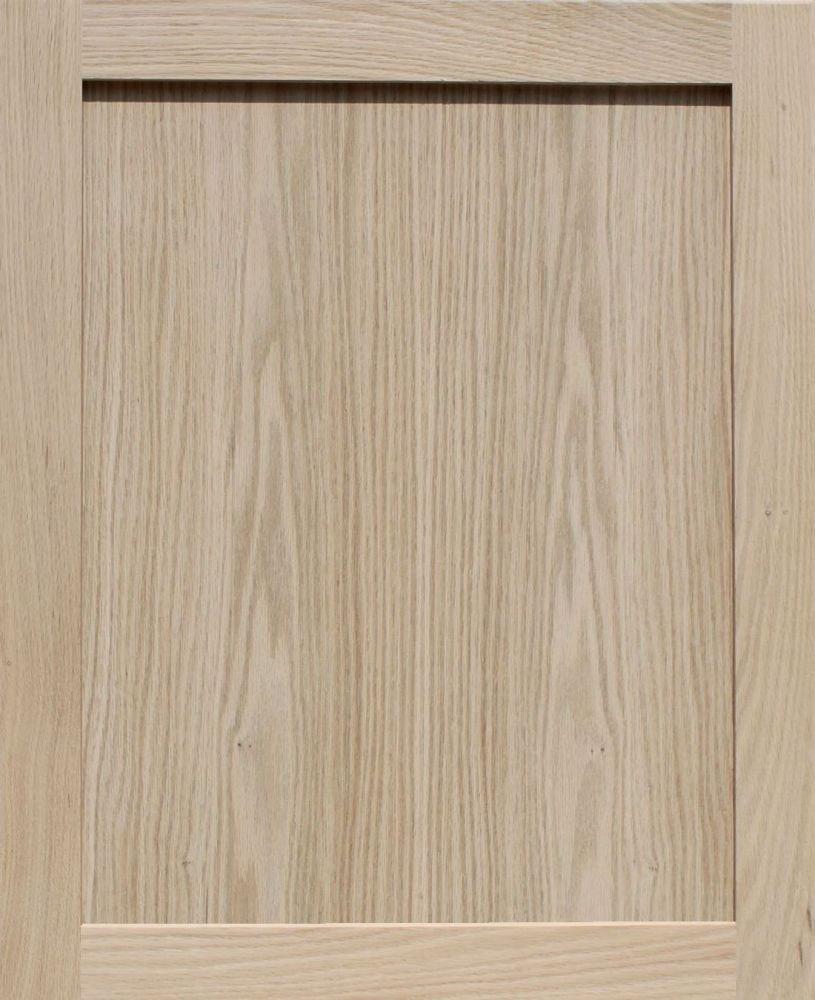 Unfinished Oak Shaker Cabinet Door by Kendor, 27H x 22W