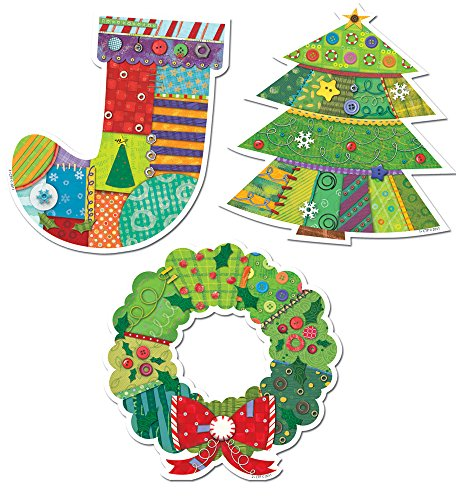 Creative Teaching Press 10-Inch Jumbo Designer Cut-Outs, ...