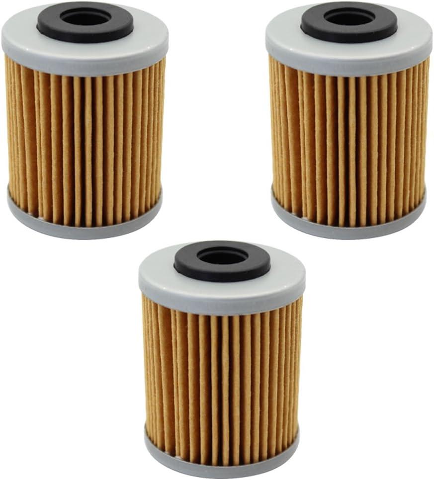 Cyleto filtro olio per 690/SMC//690/Duke 2008/ confezione da 3 /2011/