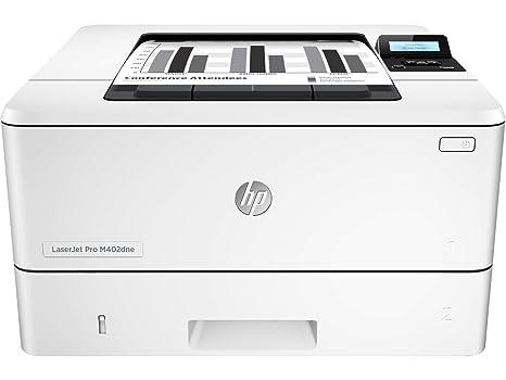 HP Laserjet Pro M402dne - Impresora láser Monocromo (A4 Negro, hasta 38 ppm, de 750 a 4000 páginas al Mes, 1 USB 2.0 de Alta Velocidad, 1 USB Host, 1 ...