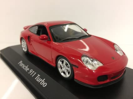 "Minichamps 940069300"" 1999 Porsche 911 Turbo 996"" Die-Cast Model, ..."