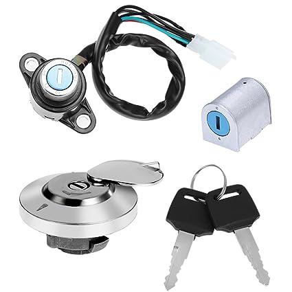 61Hq1VwG7YL._SX425_ amazon com ignition switch fuel gas cap steering lock set for honda