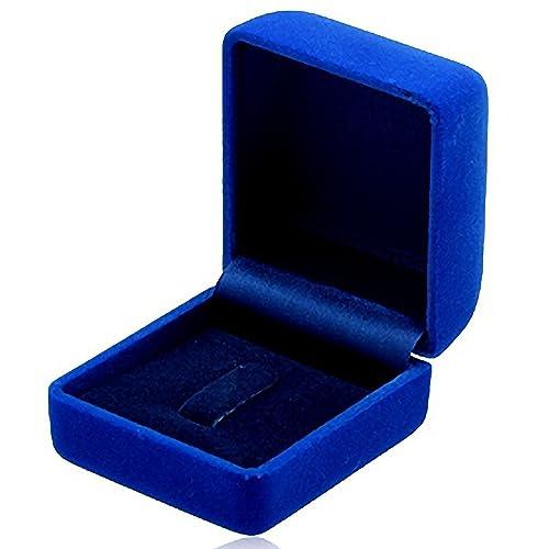 EYS JEWELRY® estuche de joyería para anillo pendientes ...