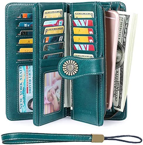 Elegant Wallets Capacity Leather Trifold product image