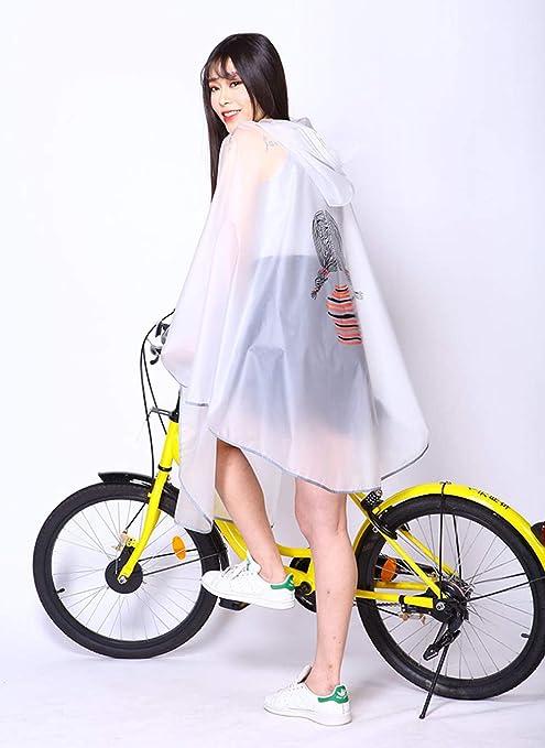 Hombre para Mujer Ciclismo Bicicleta Impermeable para la Lluvia ...