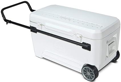 561cb4ec46a Igloo Glide 110 qt wheeled cool box Cooler  Amazon.co.uk  Sports ...