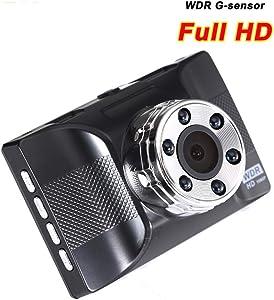 QUARKJK Dash Cam 1080p Manual Car Camera Hd Dvr Mini Voice Recorder 3 Inch Display Car