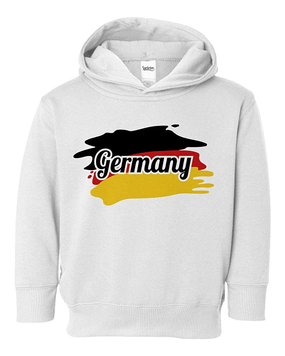 Societee Germany National Pride Cute Adorable Girls Boys Toddler Hooded Sweatshirt
