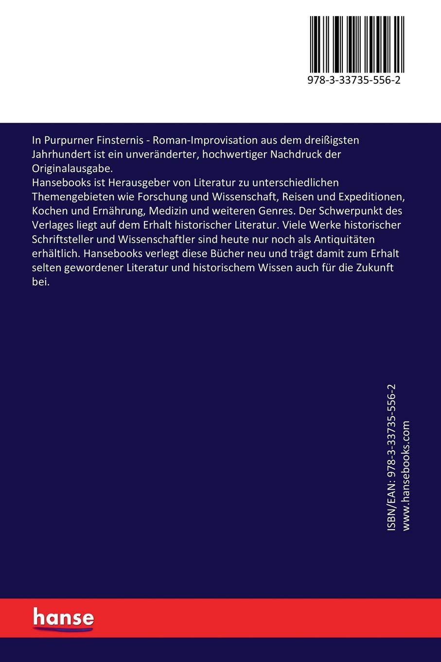 In purpurner Finsternis (German Edition)