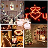 Battery Operated LED Tea Lights:24 Pack Flameless