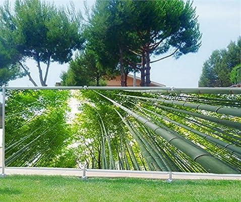 StickersNews Brise Vue, jardín, terraza, balcón Déco bambú, bambú, 100%, 200 x 78 cm: Amazon.es: Hogar