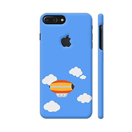 online retailer fc26d a6c40 Colorpur iPhone 8 Plus Logo Cut Cover - Aircraft: Amazon.in: Electronics