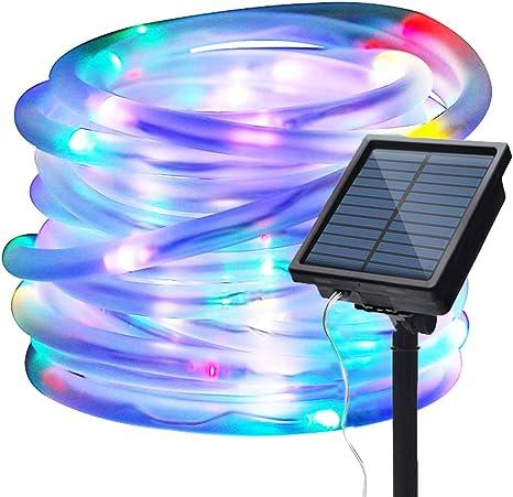 12M//39FT 100 LED String Lights Solar Garden Yard Decor Outdoor Xmas Fairy Lights
