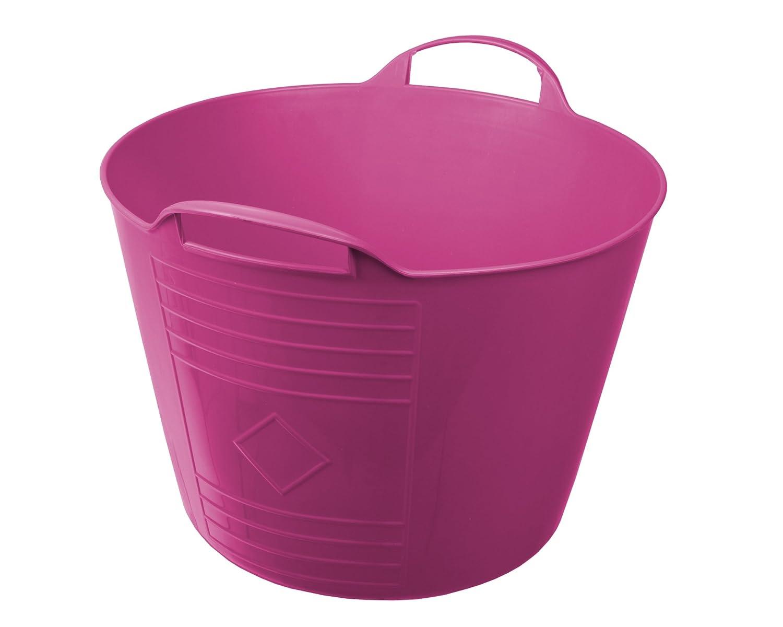 Ondis24 Flexi Tub Tragekorb Gartenkorb Wäschekorb Spielzeugeimer 15 L grün 4er